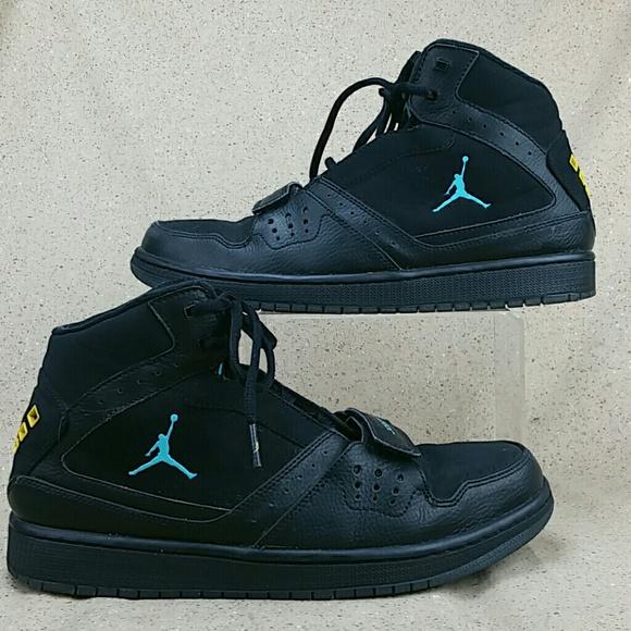 365c29ed681139 Nike Jordan Flight 1 Basketball Shoes Black M 9.5.  M 5a898ab23800c57474f8bf59